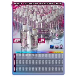 HUDY ULTIMATE SILICONE OIL 2000 cSt - 50ML    (106420)