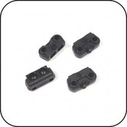 P04 Composite Kugelpfannen - für Radträger / Querlenker (4 Stück) / Arm Hasp (4 Piece)