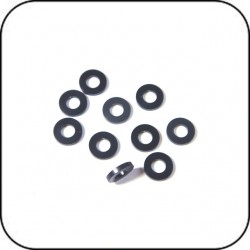 SH1.0 6x3x1.0mm Shims Grau (10 Stück) / 6x3x1.0mm Spacer Gray (10 Piece)