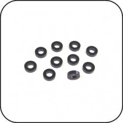 SH1.75 - 6x3x1.75mm Spacer (Black) x 10
