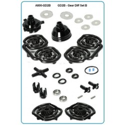 GD2B - Gear Diff Set B