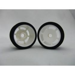 HSPEED 1/12 Foam Tire front X-Compound 32 spezielle für ETS Teppich  ( HSPFTX32F )