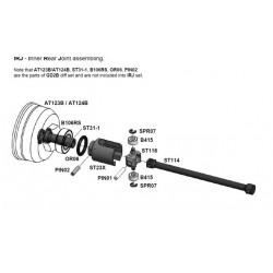 ST31-1 GD2 Kegeldiff Ausgänge - V2 (2 Stück) / GD2 Output  Axle (2 Piece)