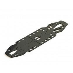 C01B-X-MMA Alu Chassis Platte / C01B-X-MMA Lower Deck Alloy