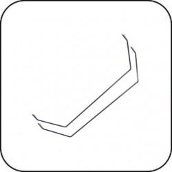 SWB11 Stabi 1.1mm (2 Stück) / SWB11 Sway Bar 1.1mm (2 Piece)