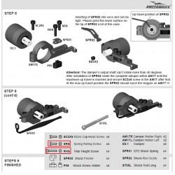 SRS Schraube für Federrate (4 Stück) / SRS Spring Rating Screw (4 Priece)