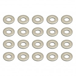 Washers, 2.6 x 6mm