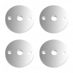 FT 12mm Pistons V2, 2 x 1.7, flat AE91627