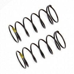 Front Shock Springs, yellow, 4.30 lb in, L44mm  AE91834
