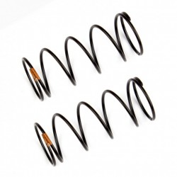 Front Shock Springs, orange, 5.10 lb in, L44mm  AE91836