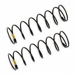 Rear Shock Springs, yellow, 2.30 lb in, L61mm  AE91841