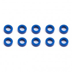 Associated  Ballstud Washers, 5.5x2.0 mm, blue aluminum  ( AE31383 )