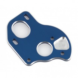 Associated  B6.1/B6.2 Laydown Motor Plate, blue aluminum   ( AE91795 )