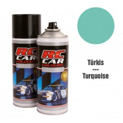 RC Car Colours Lexan Farbe Türkis 150ml  RCC946