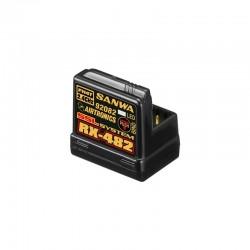 SANWA RX-482 Telemetrie / SSL Empfänger  SANWA SURFACE CH4 2.4GHz FH4 (SSL Funktion) SAN107A41257A
