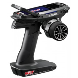 SANWA  M17 - RX-491 / ohne Servos/ TX/RX Farb-Touch-Display SURFACE CH4 2.4GHz FH5 Ultra Response Mode SAN101A32471A