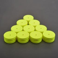 SCHUMACHER 2/4WD Hintere Felgen Neon Gelb  10 Stk. (U7459)