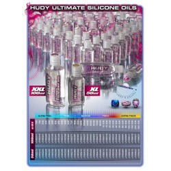 HUDY ULTIMATE SILICONE OIL 4000 cSt - 50ML   (106440)