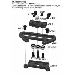 AM86 Lenkungsplatte - für LS1 / AM86 Steering Plate LS1