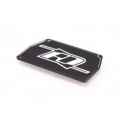 RD B6/B6.1/B6.2 Aluminium Electronic Mounting Plate (Black)  (RDRP0294-BLK)