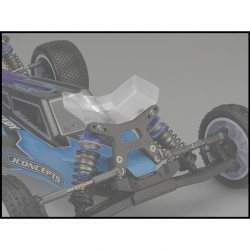 Jconcepts Front Flügel B6/B6DB6.1/B6.2 front wing, Fits gullwing front arm - narrow, 2pc