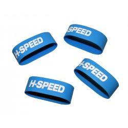 Reifenklebebänder Silikon (4Stk)   HSP0012