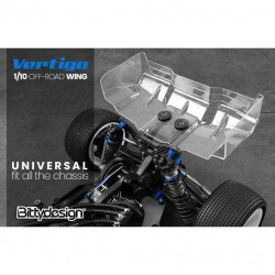 Bittydesign Vertigo 1/10 Off-road 1mm wing Pre-cut BDW10C-VRT