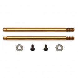 Associated 3x35 mm Shock Shafts (V2), TiN  AE91623