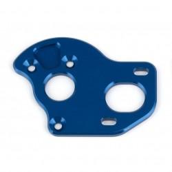 Associated RC10T6.2 Laydown Motor Plate, blue aluminum  AE71145