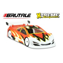 Xtreme 1/10 Brutale Clear Body 0.6mm (190mm)  MTB0418-06