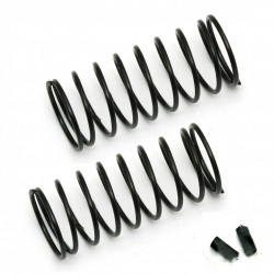 Associated FT 12mm Front Springs, black, 3.00 lb  AE91326