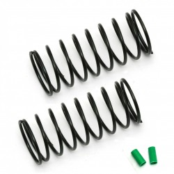 Associated FT 12mm Front Springs, black, 3.00 lb   AE91327