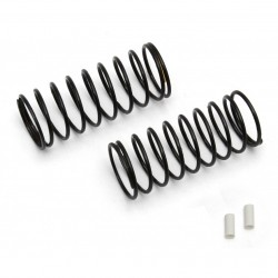 Associated FT 12mm Front Springs, white, 3.30 lb   AE91328