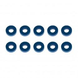 Associated Washers, 7.8x3.5x2.0mm, blue aluminum   AE31389