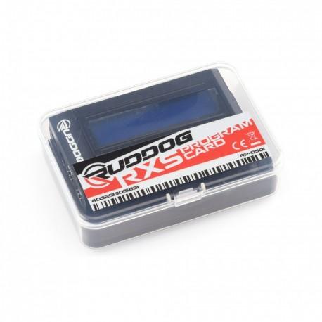 RUDDOG Racing RXS Program Card  RP-0501